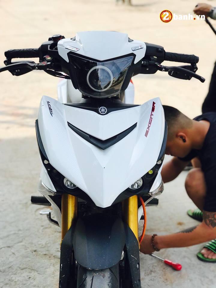 Exciter 150 do ham ho voi option do choi PKL cua biker Quang Ninh - 4
