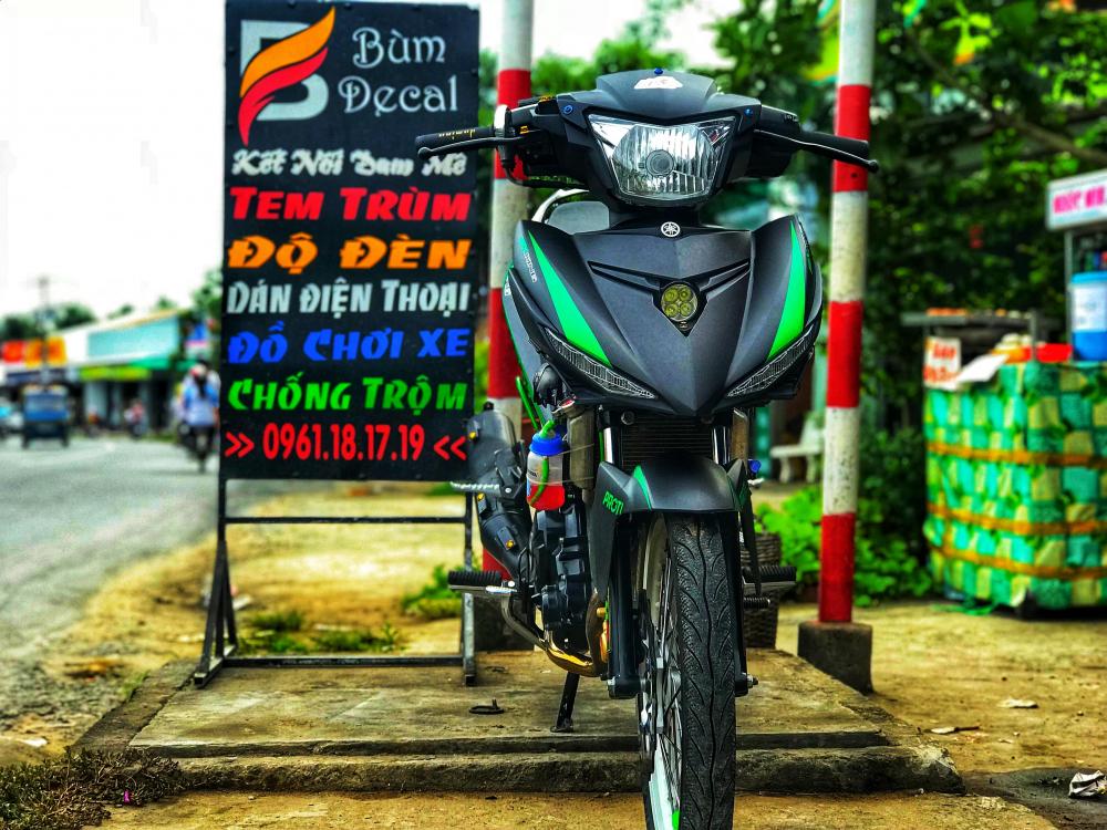 Exciter 150 don kieng don gian nhung cuc chat cua Biker den tu Xu Dua Ben Tre