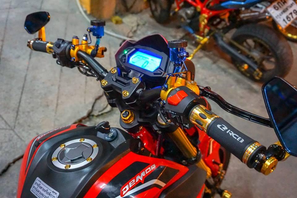 GPX Demon 150 GN do mang ve dep tinh te cua biker Thailand