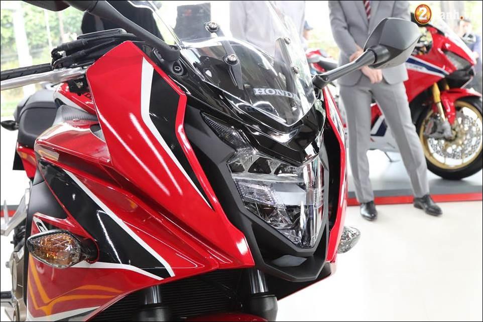 Honda CBR650F 2018 gia 2339 trieu VND ra mat tai Showroom Honda Motor Viet Nam - 3