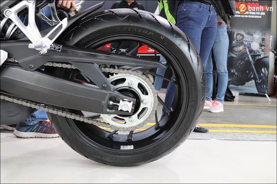 Honda CBR650F 2018 gia 2339 trieu VND ra mat tai Showroom Honda Motor Viet Nam - 16