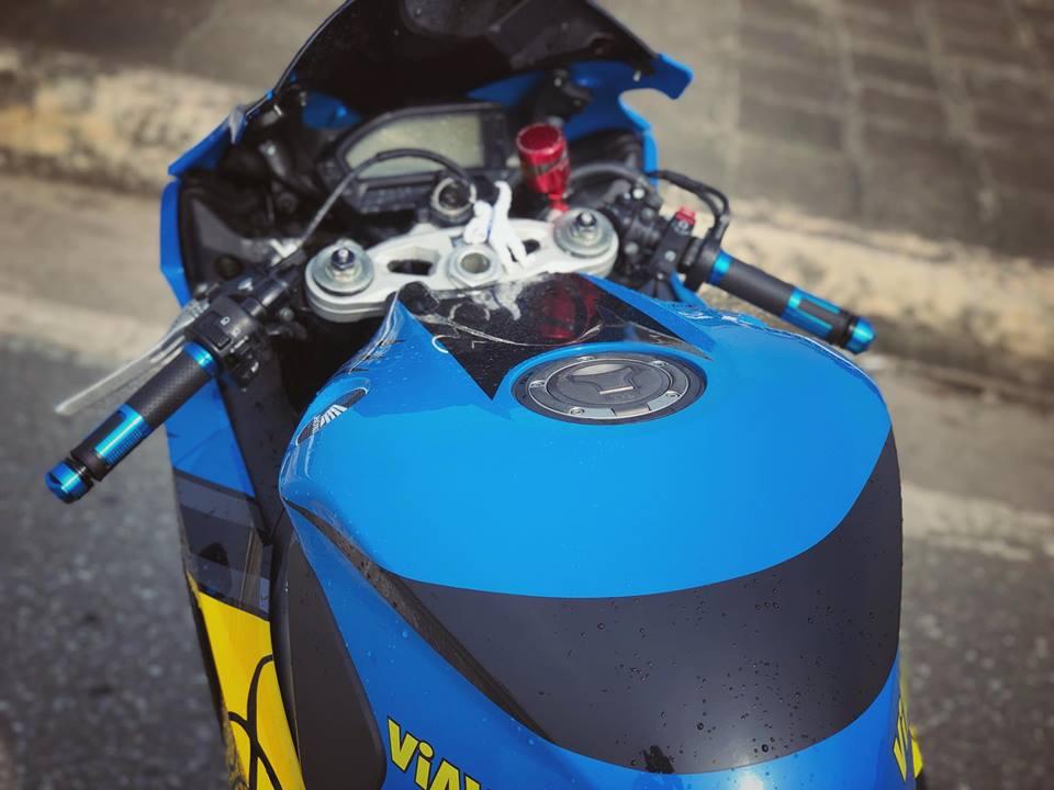 Honda CBR1000RR do khac biet cung bo canh Ca map AGV Pista Misano - 4