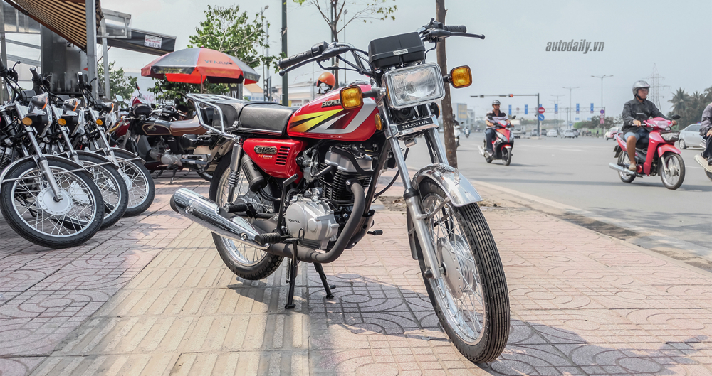 HONDA CG125 GIA HON 30 TRIEU DONG TAI VIET NAM - 3