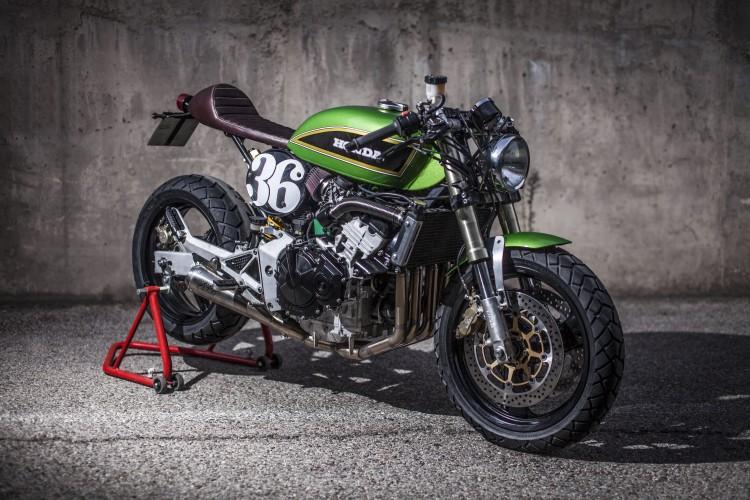 Honda Hornet CB600 day chat choi tu tay do XTR Pepo