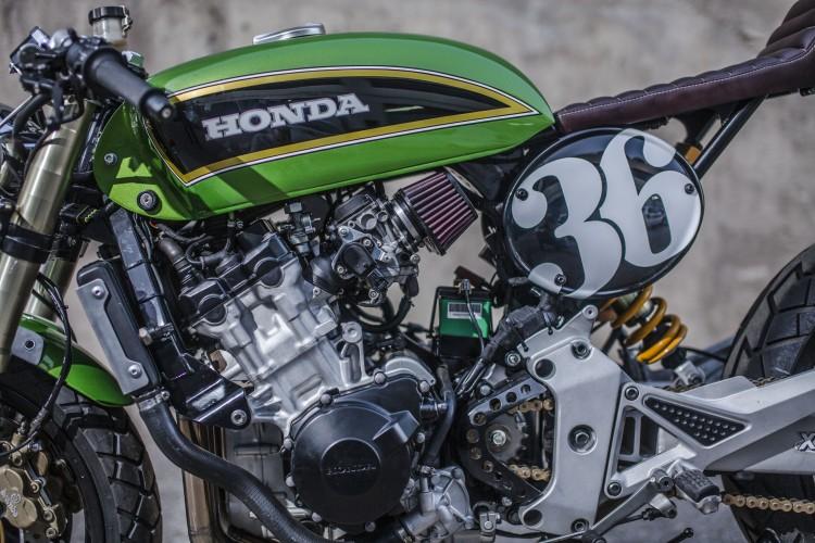 Honda Hornet CB600 day chat choi tu tay do XTR Pepo - 6