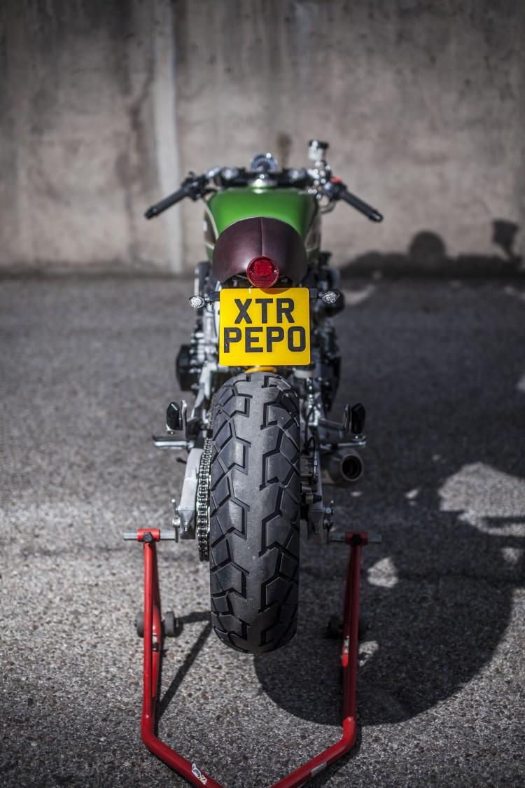 Honda Hornet CB600 day chat choi tu tay do XTR Pepo - 12