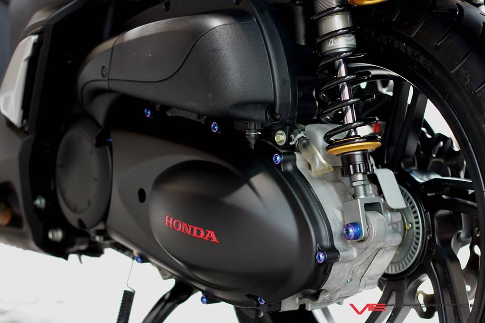 Honda Sh300i do sieu sieu dep voi cap phuoc gia cat co - 8