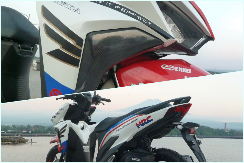 Honda Vario 150 2018 phien ban HRC chinh thuc lo dien