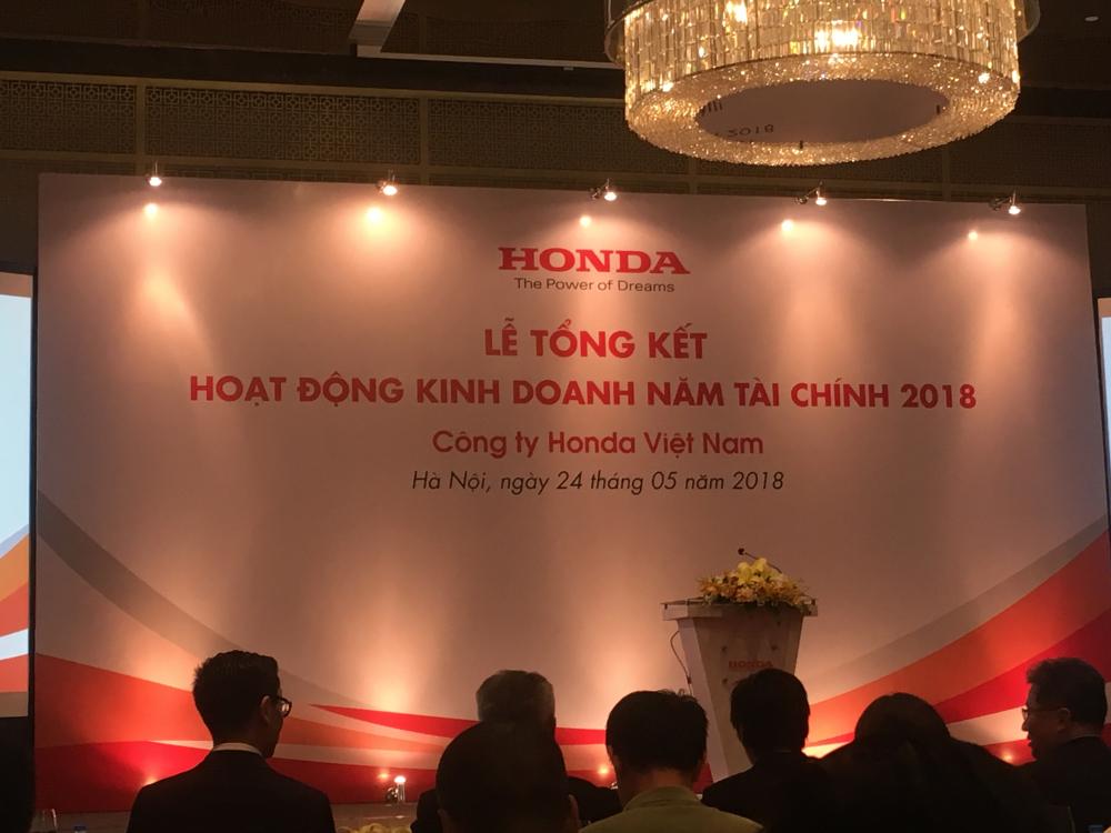 Honda Viet Nam Tong ket hoat dong nam tai chinh 2018 va Ke hoach phat trien nam tai chinh 2019