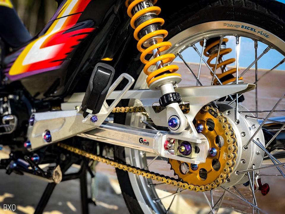 Honda Wave do mang net dep an minh day thu vi cua biker Bac Lieu - 7