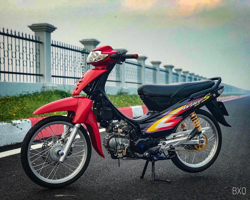 Honda Wave do mang net dep an minh day thu vi cua biker Bac Lieu - 12