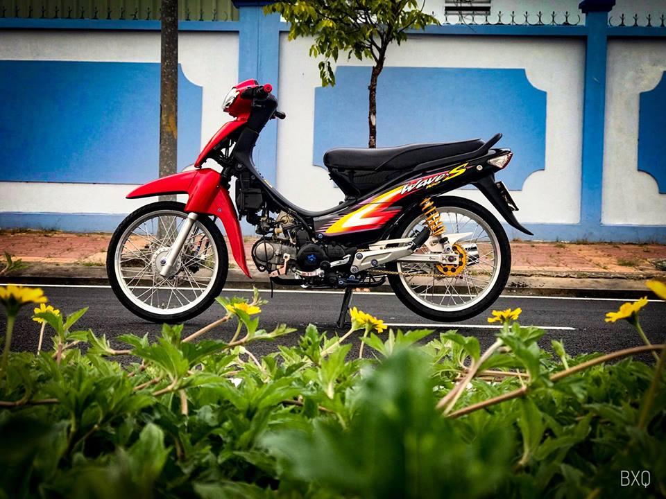 Honda Wave do mang net dep an minh day thu vi cua biker Bac Lieu - 15