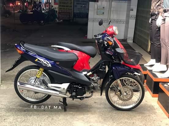 Honda wave1 duoc 1 biker dung lai sau 12 nam vang bong