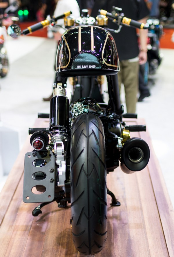 Honda Zoomer do phong cach Cafe Racer - 6