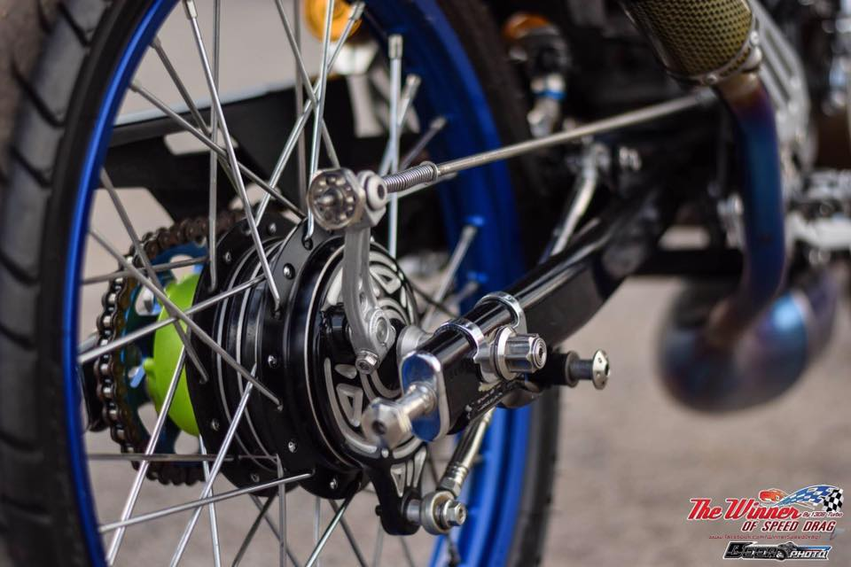 Kawasaki Kips 150 do mang net dep dang cap cua biker nuoc ban