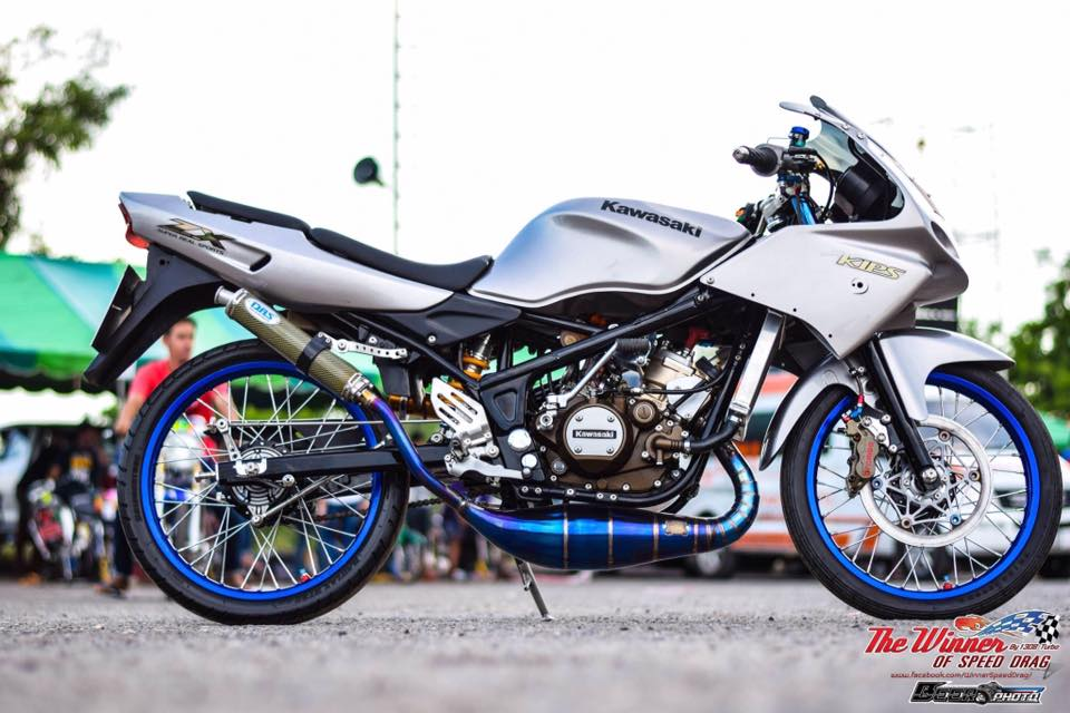 Kawasaki Kips 150 do mang net dep dang cap cua biker nuoc ban - 9