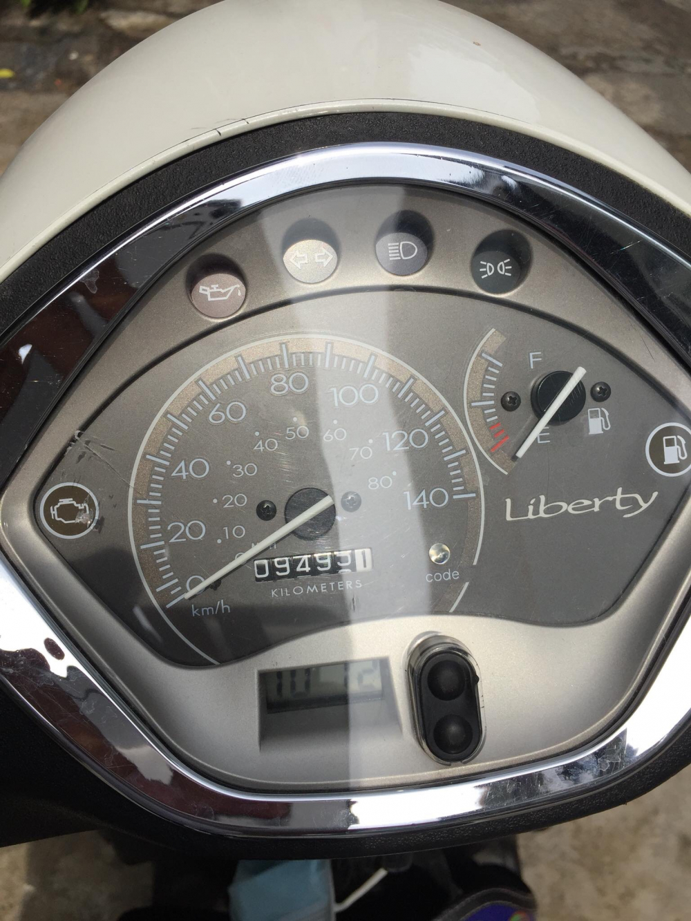 Liberty 2012 trum men ordo 9000km