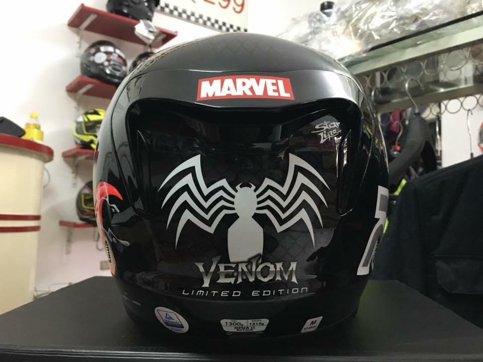 motobox Mu bao hiem tem Marvel doc dao hay tro thanh nhung sieu anh hung ban yeu thich - 9
