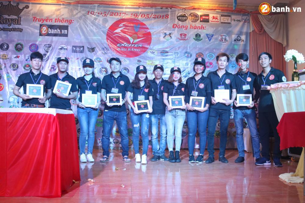 Mung sinh nhat Club Exciter Bau Bang lan I hang tram biker do ve chung vui - 13