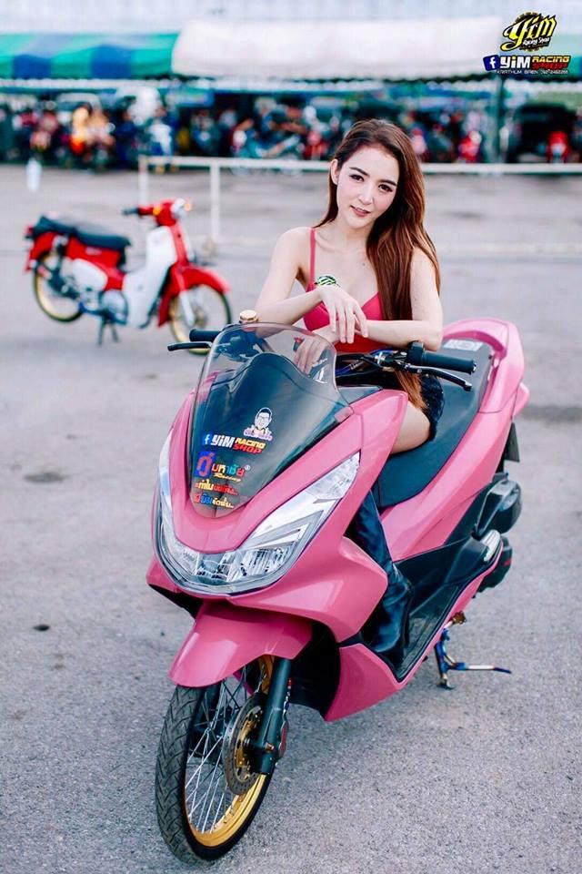 PCX 150 do bong hong dang yeu ben option do choi dang cap - 9