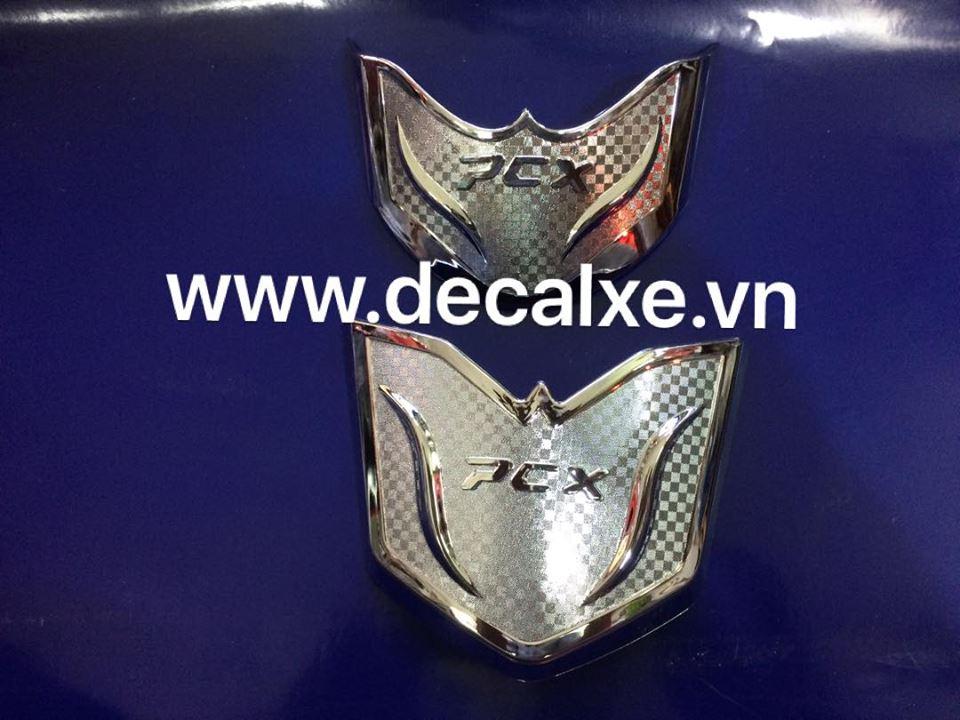 Phu kien trang tri xe Pcx 2018 phien ban moi - 8