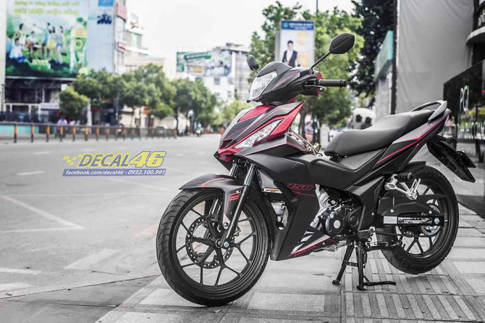 Tong hop tem xe Winner 150 do den thang 52018 do Decal46 thuc hien - 20