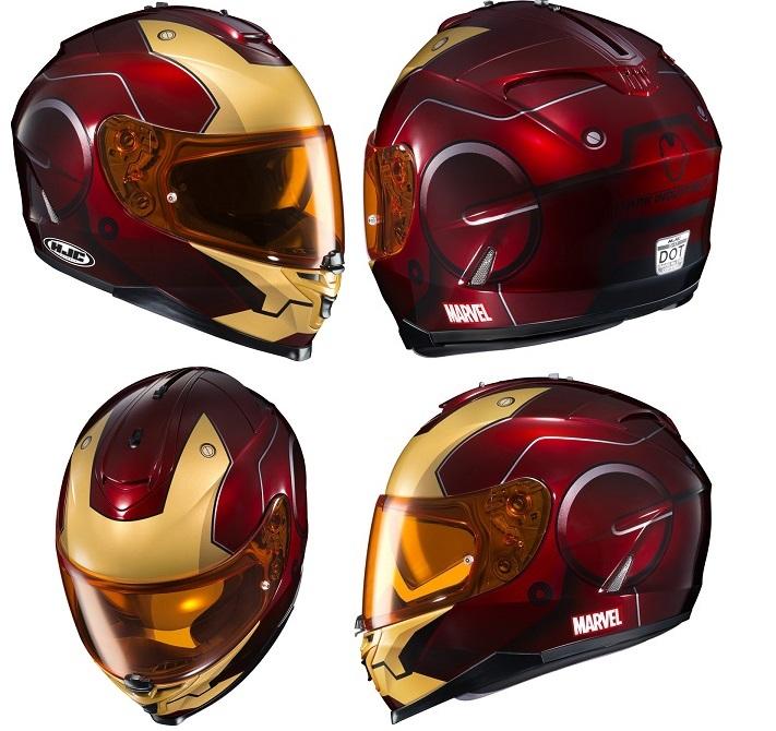 motobox HJC IS 17 Iron man sieu khung cho moi lan doi