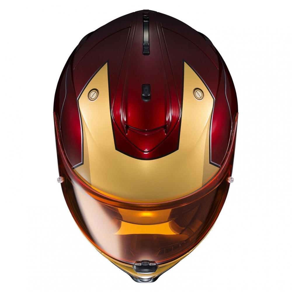 motobox HJC IS 17 Iron man sieu khung cho moi lan doi - 2