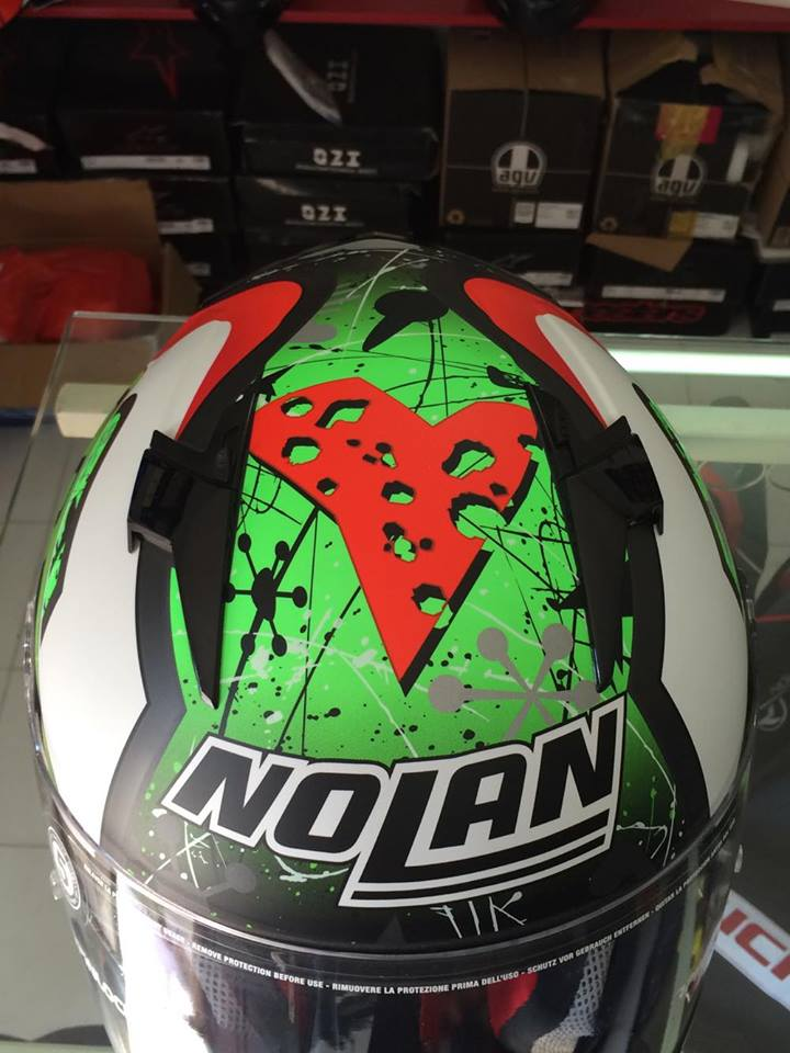 motobox Giam gia den 20 cho mu bao hiem Nolan N64 Aspalt Black - 3