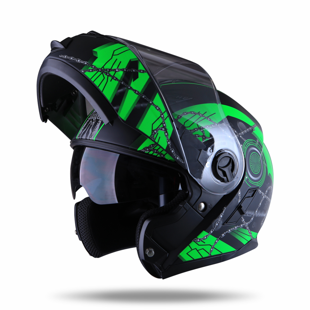 Royal Helmet Ha Noi Royal M08 tem xanh xich