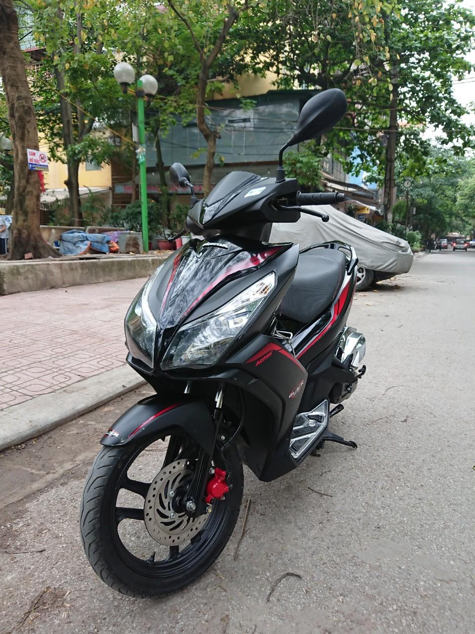 Rao ban Honda Air blade 125fi Black Edition den mo chinh chu - 5