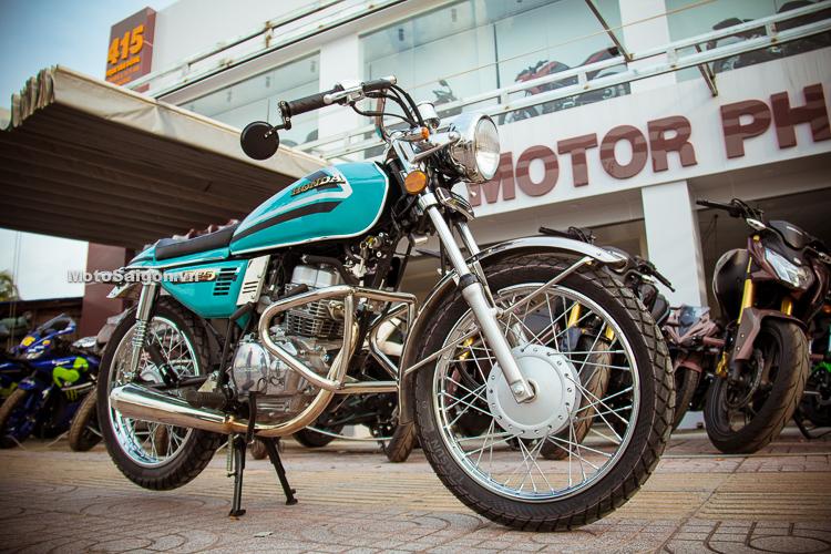 So huu ban do Cafe Racer Honda CG125 chi voi hon 10 trieu dong - 3
