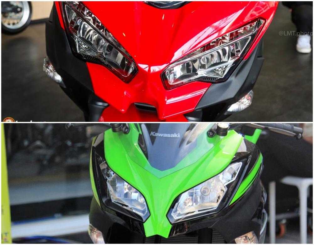 So sanh giua Kawasaki Ninja 250 2018 va Ninja 300 - 5