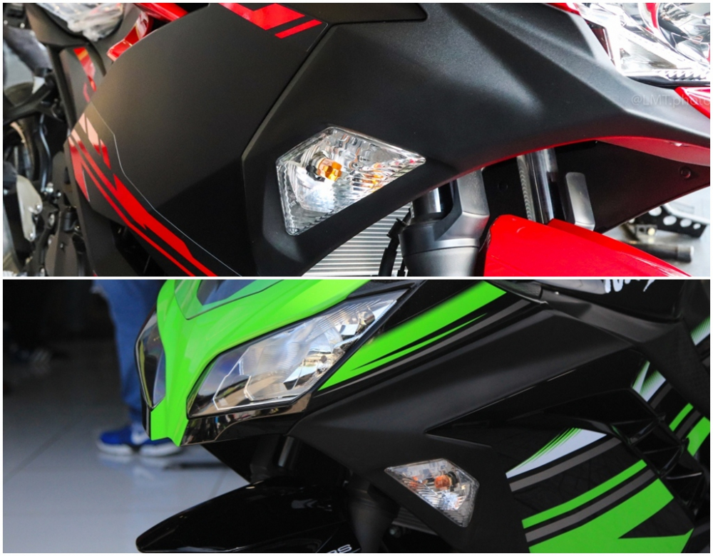 So sanh giua Kawasaki Ninja 250 2018 va Ninja 300 - 7