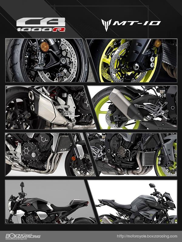So sanh Honda CB1000R 2018 va Yamaha MT10 - 19