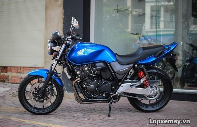 Thay lop xe may Aspira cho CB400 co tot khong Gia lop xe CB400