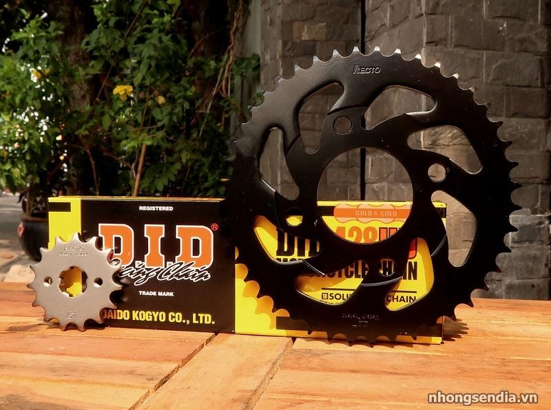 Thay nhong dia Recto cho Winner 150 co tot khong