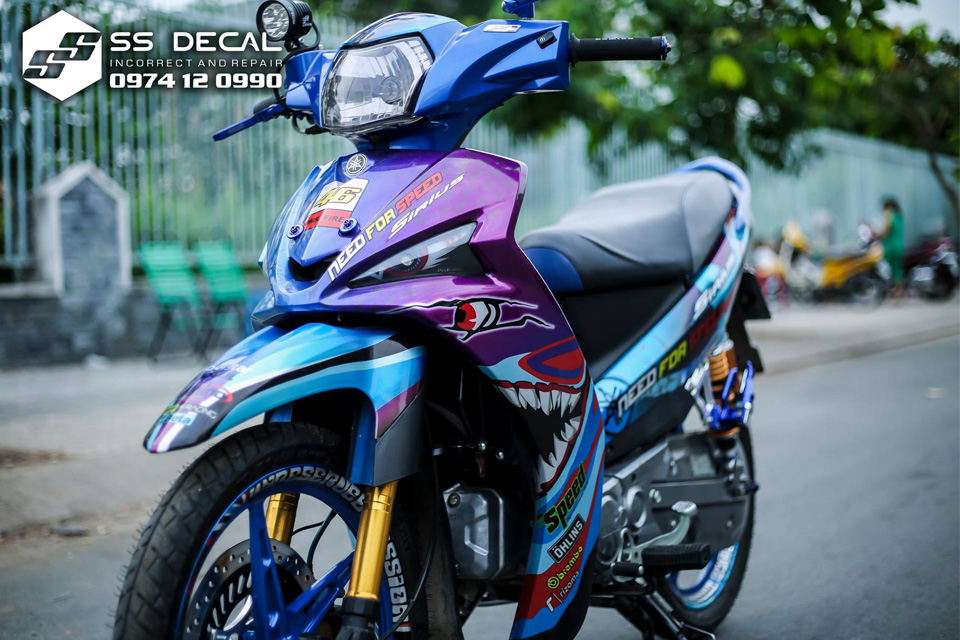 Tong Hop Decal Xe May Dep Nhat Thang 5 do SSDecalvn Thuc Hien - 11