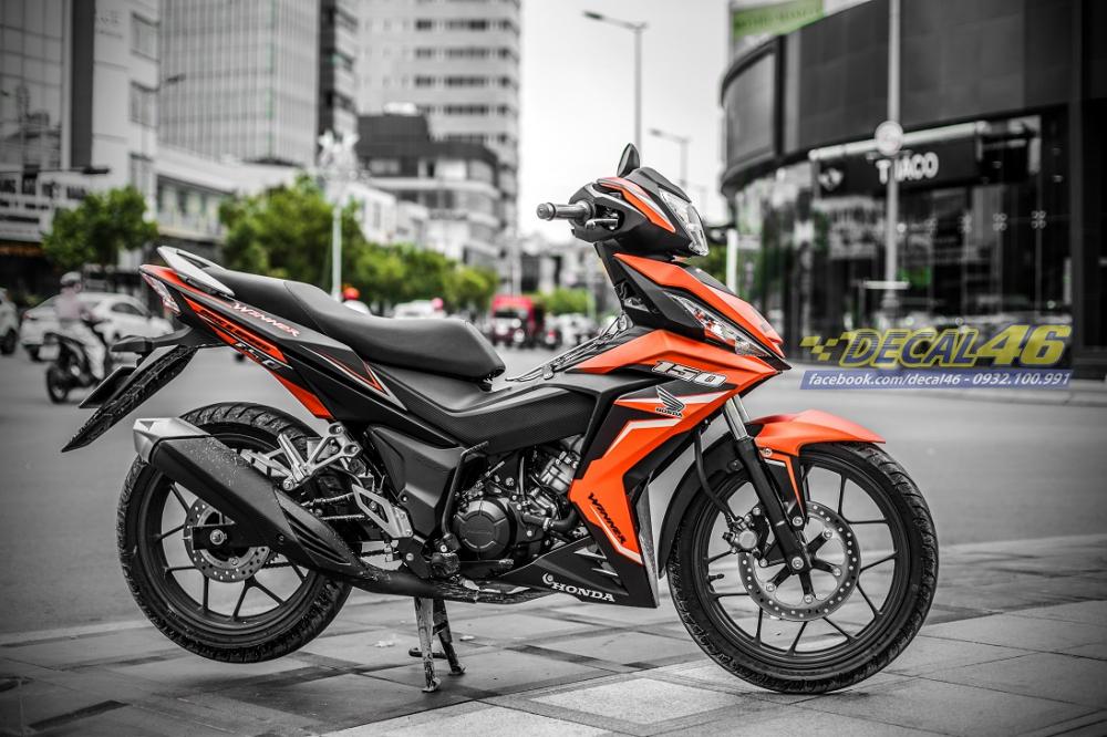 Tong hop tem xe Winner 150 cam den thang 52018 dep do Decal46 thuc hien - 2