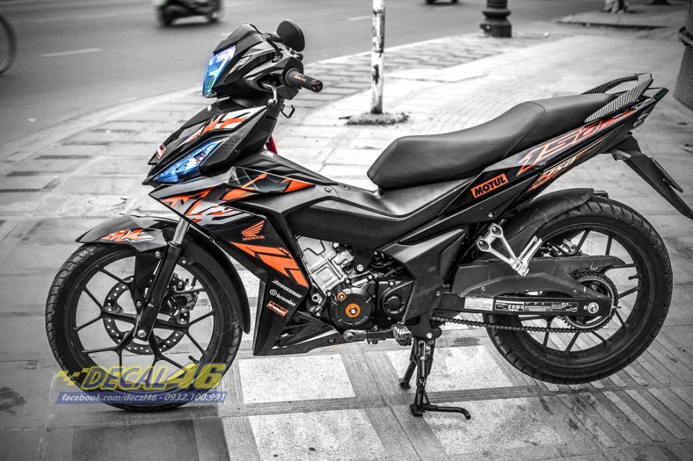 Tong hop tem xe Winner 150 cam den thang 52018 dep do Decal46 thuc hien - 4