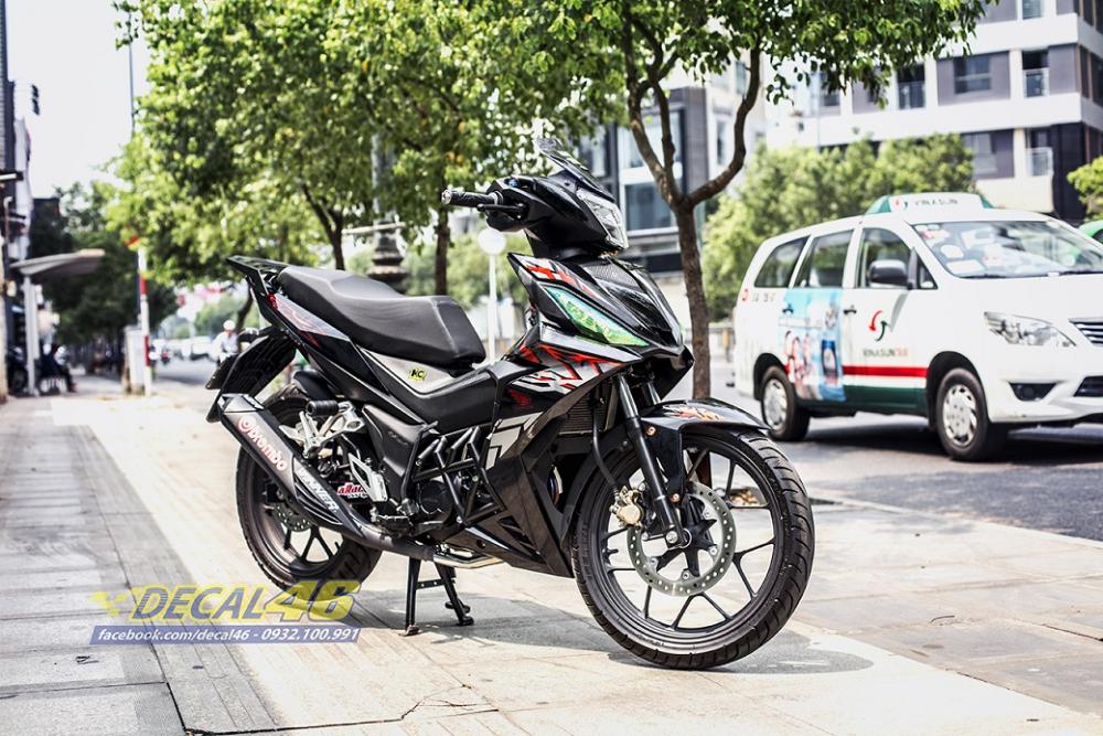 Tong hop tem xe Winner 150 cam den thang 52018 dep do Decal46 thuc hien - 8