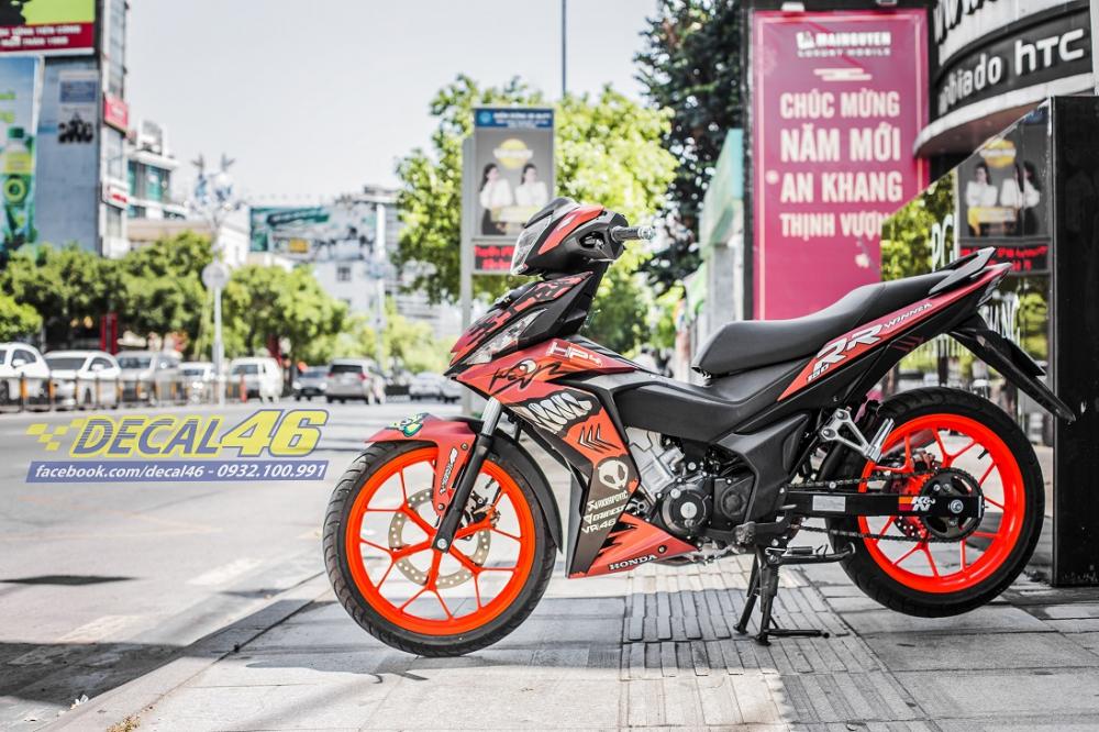 Tong hop tem xe Winner 150 cam den thang 52018 dep do Decal46 thuc hien - 10