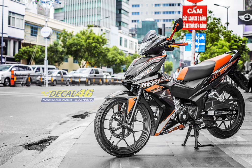 Tong hop tem xe Winner 150 cam den thang 52018 dep do Decal46 thuc hien - 18