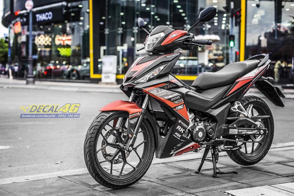 Tong hop tem xe Winner 150 cam den thang 52018 dep do Decal46 thuc hien - 20