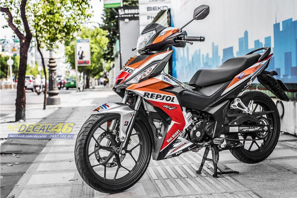 Tong hop tem xe Winner 150 cam den thang 52018 dep do Decal46 thuc hien - 22