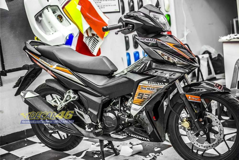 Tong hop tem xe Winner 150 cam den thang 52018 dep do Decal46 thuc hien - 26