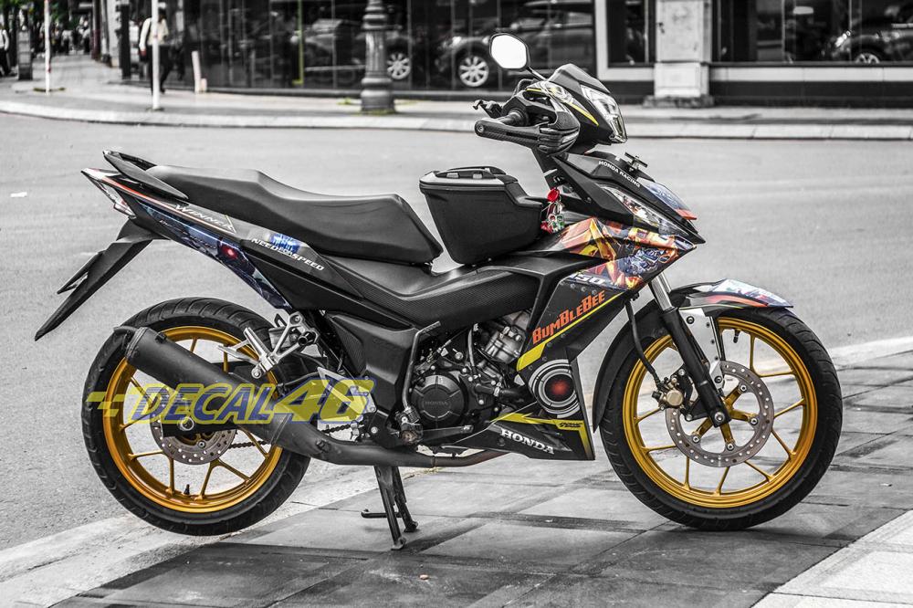 Tong hop tem xe Winner 150 cam den thang 52018 dep do Decal46 thuc hien - 30