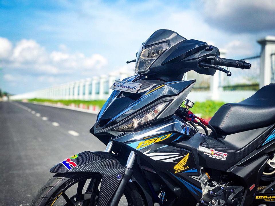 Winner 150 do loi cuon nguoi xem boi option do choi gia tri cua biker Bac Lieu