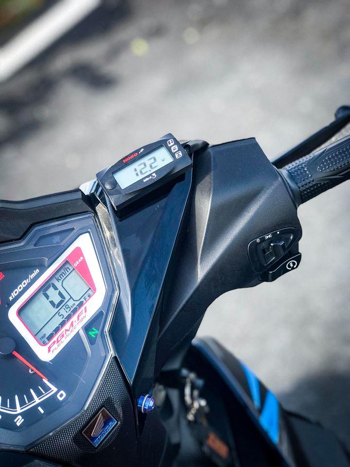 Winner 150 do loi cuon nguoi xem boi option do choi gia tri cua biker Bac Lieu - 5