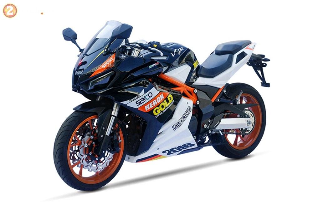 Xuat hien phien ban nhai Honda CB1000RRYamaha XMAX duoi danh thuong hieu TAROMOTO - 4